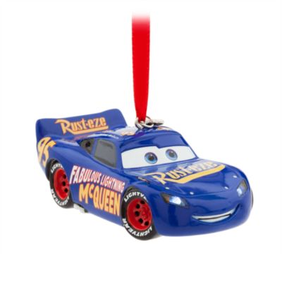 Fabulous Lightning McQueen Light-Up Hanging Ornament