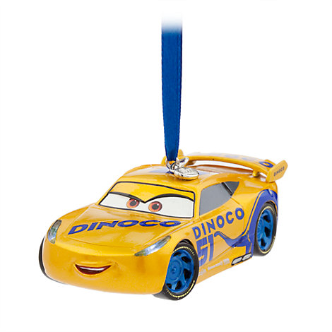 Cruz Ramirez Hanging Ornament, Disney Pixar Cars 3