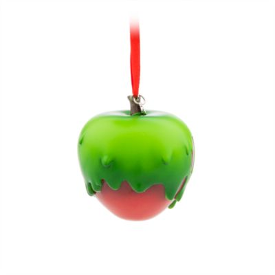 Adorno colgante de la manzana envenenada, Blancanieves y los siete enanitos;