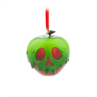 Vergifteter Apfel aus Schneewittchen und die sieben Zwerge - Dekorationsstück zum Aufhängen
