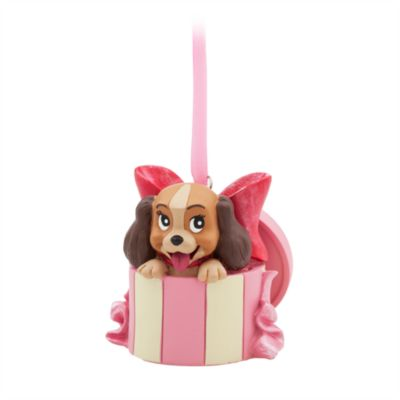 Lady Hanging Ornament, Lady and the Tramp