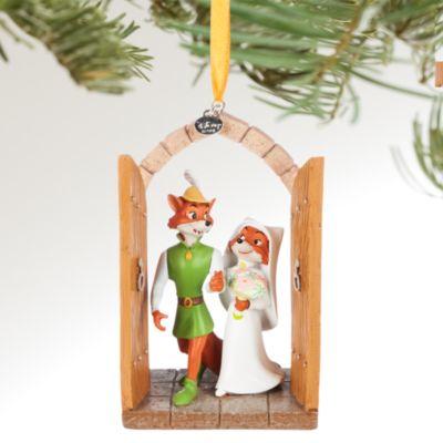 Robin Hoods bröllop juldekoration