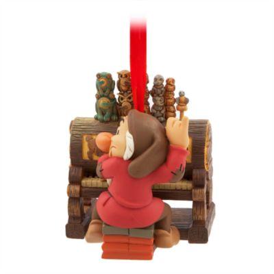 Gnavpot julepynt til ophæng, Snehvide og de syv dværge