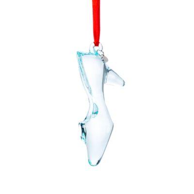 Cinderellas Glasschuh - Dekorationsstück zum Aufhängen