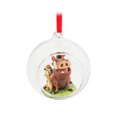 Ornament da appendere Timon e Pumbaa, Il Re Leone