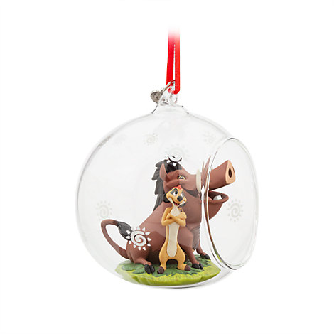 Timon och Pumbaa hängande ornament, Lejonkungen