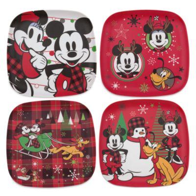 Micky und Minnie - Share the Magic - Teller, 4er-Set