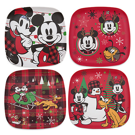 Micky und Minnie - Share the Magic - Teller, 4er-Set