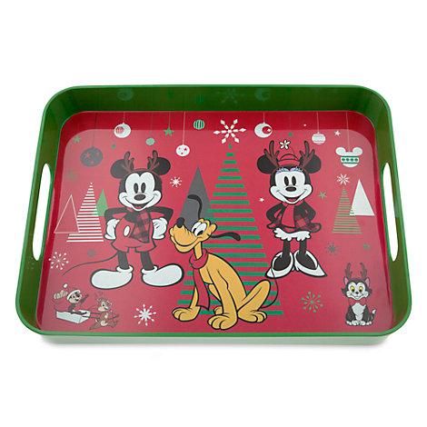 Mickey and Minnie Share the Magic Tray