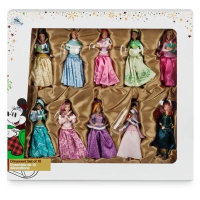 Disney Prinzessin - Weihnachtliche Dekorationsstücke - Set