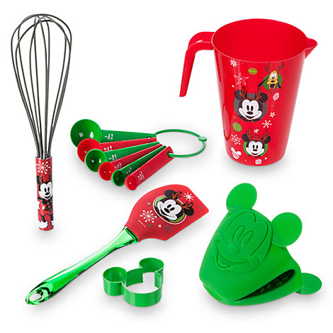 Mickey and Minnie Mouse Festive Baking Set