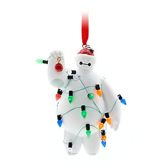 Walt Disney World Baymax Festive Hanging Ornament