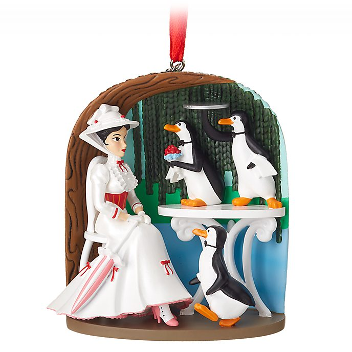 Disney Store Mary Poppins Jolly Holiday Hanging Ornament