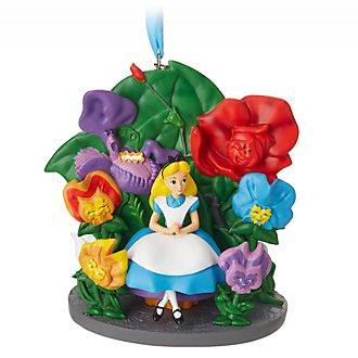 Disney Store Alice in Wonderland Garden Hanging Ornament