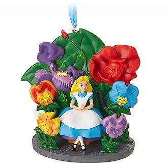 Adorno colgante jardín Alicia en el País de las Maravillas Disney Store