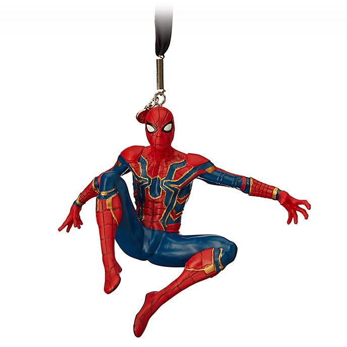 Disney Store Spider-Man Hanging Ornament