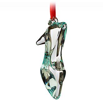 Disney Store Cinderella Glass Slipper Hanging Ornament