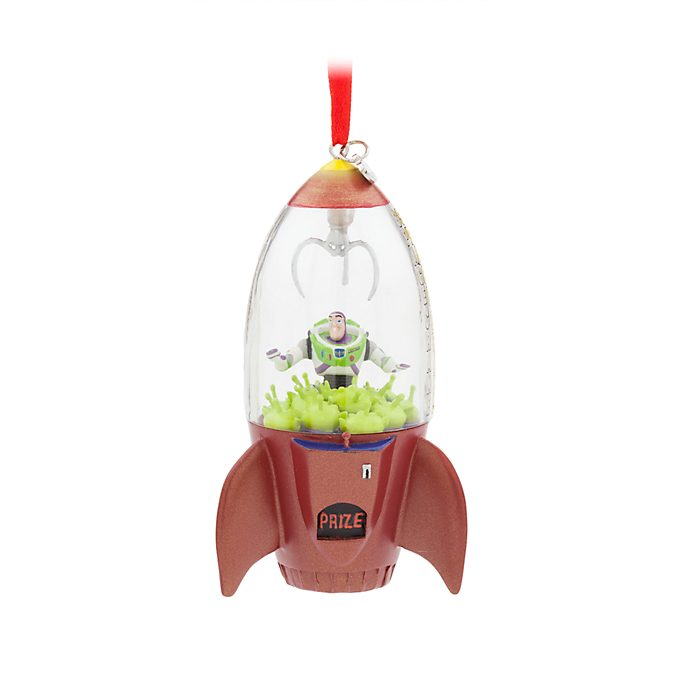 Disney Store Buzz Lightyear Hanging Ornament, Toy Story