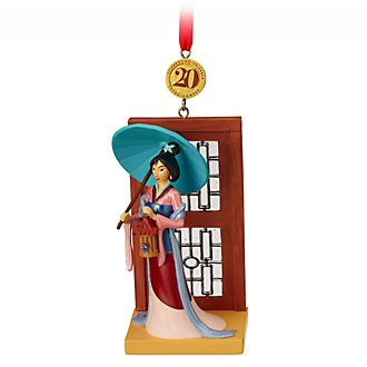 Disney Store Mulan Hanging Ornament