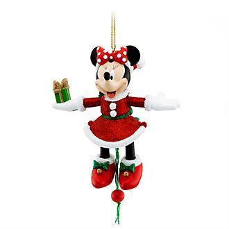 Ornament da appendere natalizio Minni Disney Store