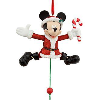 Disney Store Objet décoratif de Noël Mickey Mouse à suspendre