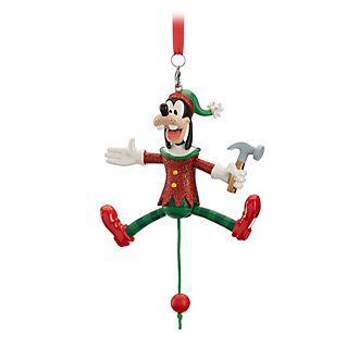 Disney Store Goofy Festive Hanging Ornament