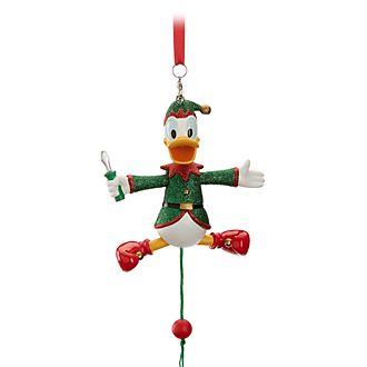 Disney Store Objet décoratif de Noël Donald Duck à suspendre