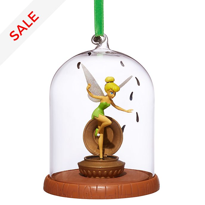 Disney Store Tinker Bell Dome Hanging Ornament