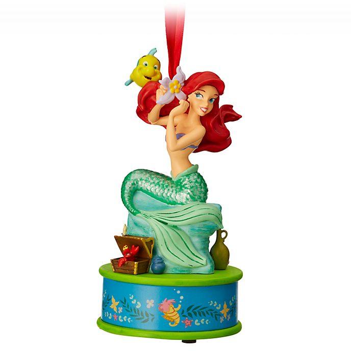 disney store ariel christmas ornament the little mermaid - Little Mermaid Christmas Ornaments