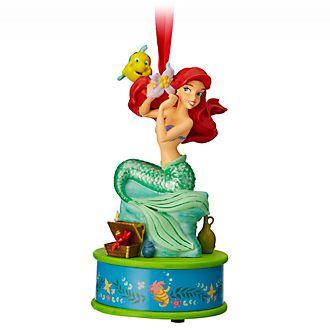 Disney Store Figurine de Noël Ariel à suspendre, la Petite sirène