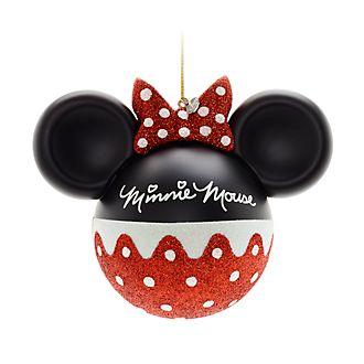 Disney Store Boules de Noël Minnie Mouse