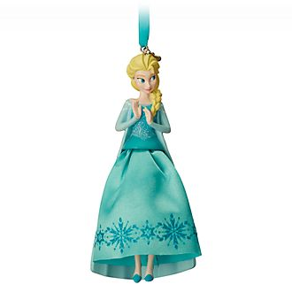 Disney Store Elsa Hanging Ornament