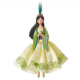 Disney Store Décoration de sapin de Noël Mulan