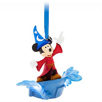 Disney Store Mickey Mouse Sorcerer's Apprentice Hanging Ornament