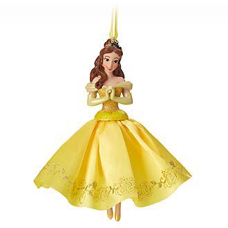 Disney Store Décoration de sapin de Noël Belle, La Belle et la Bête
