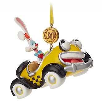 Décoration Roger Rabbit à suspendre, spéciale 30e anniversaire, Disney Store