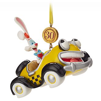 Disney Store Roger Rabbit 30th Anniversary Hanging Ornament