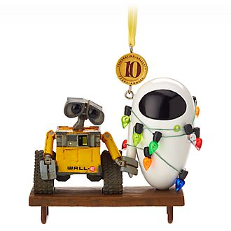 Adorno colgante 10.º aniversario WALL-E Disney Store