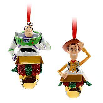 Adornos colgantes festivos Buzz y Woody, Disney Store