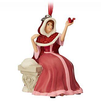 Disney Store Figurine Belle en tenue d'hiver à suspendre
