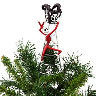 Puntale albero di Natale Jack Skeletron Nightmare Before Christmas Disney Store