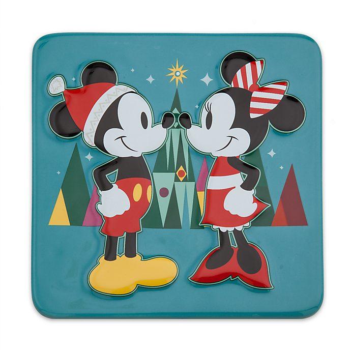 Disney Store Dessous-de-plat Mickey et Minnie Mouse