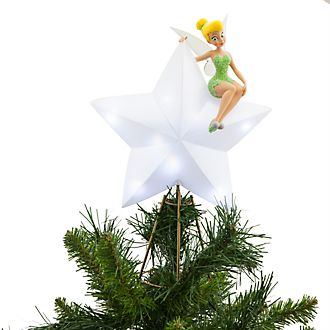 Disney Store Tinker Bell Light-Up Tree Topper