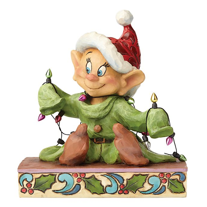 Dopey Light up the Holidays Figurine