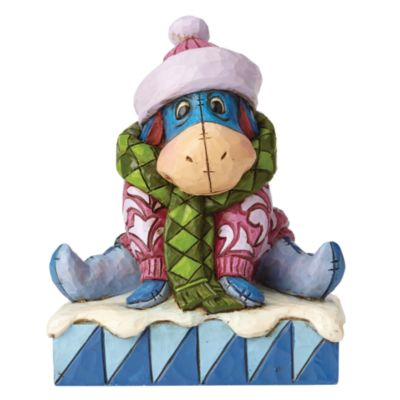 Eeyore Waiting for Spring Figurine