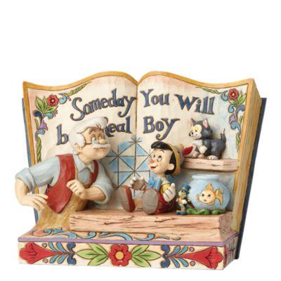 Pinocchio Storybook Figurine