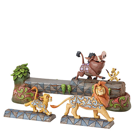 The Lion King Carefree Camaraderie Figurine