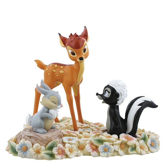Bambi Pretty Flower Figurine