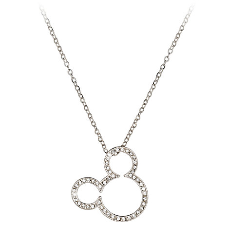 Mickey Mouse Icon Necklace