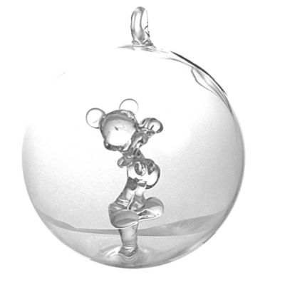 Mickey Mouse Glass Bauble